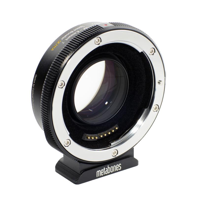 Black Matte Metabones Nikon F Lens to Sony E-Mount Camera T Adapter II